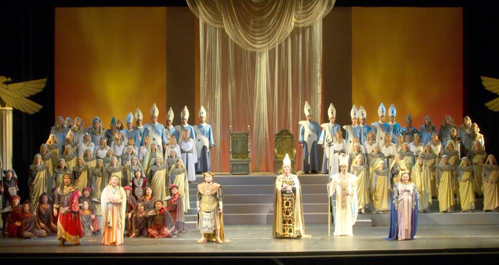 立川市民オペラ公演2014【アイーダ】より