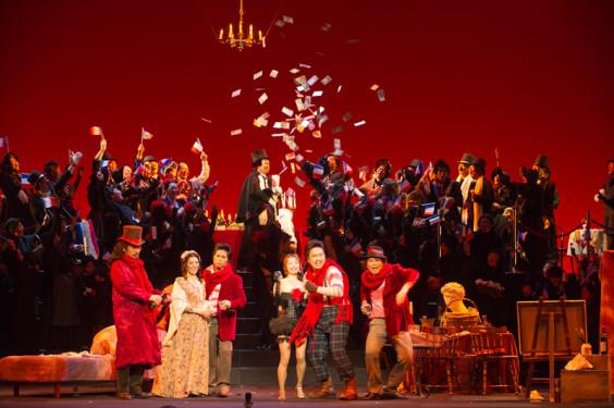CITTADINO歌劇団第14期生公演「ラ・ボエーム」より