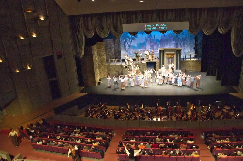 地域の芸術環境づくり助成事業 オペラ道化師 より