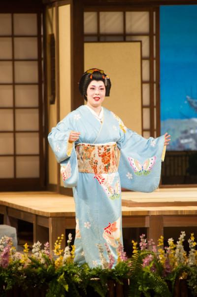 「足利オペラ・リリカ」発足記念公演 《蝶々夫人》  蝶々さん:大隅智佳子
