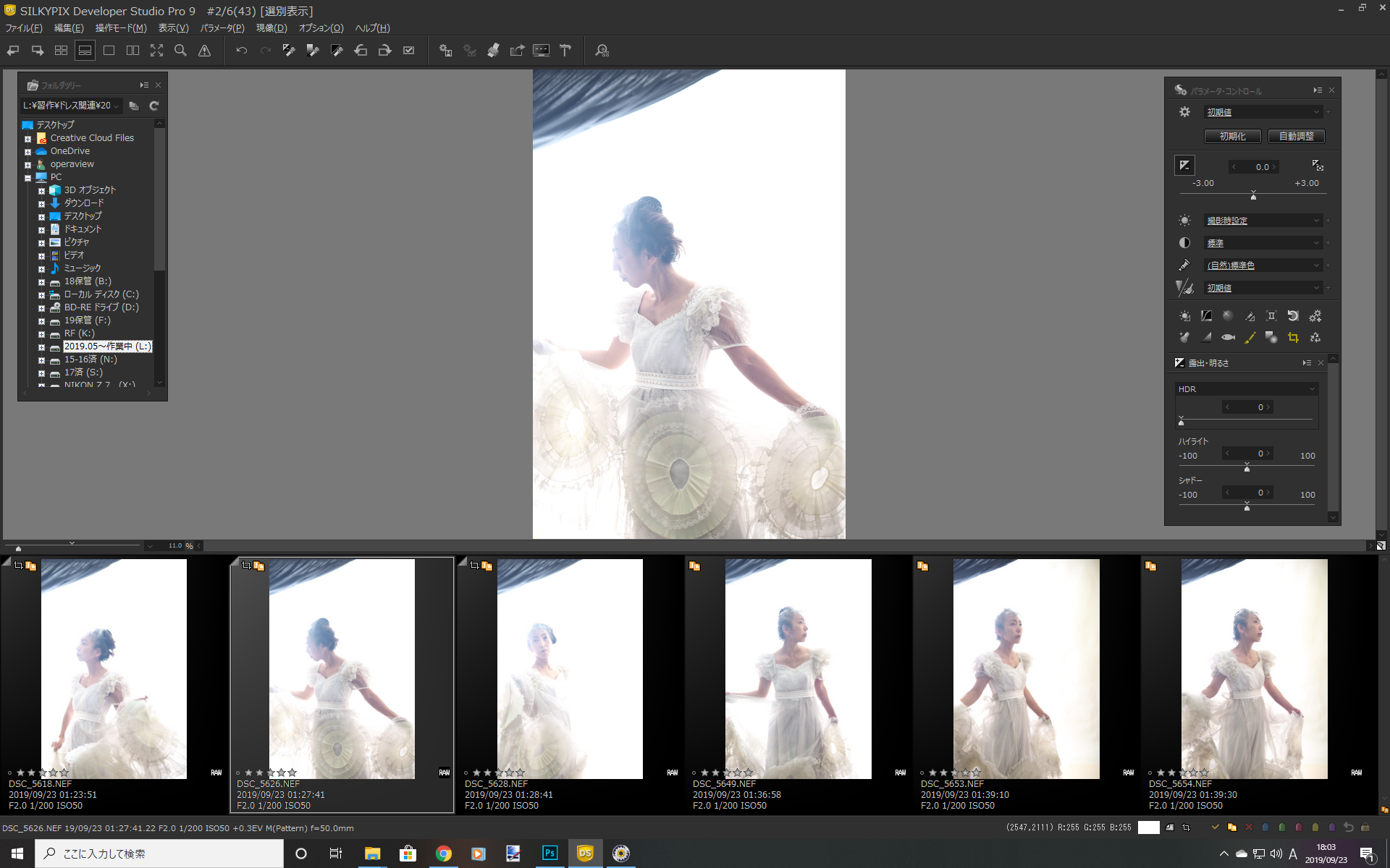 ドレスは撮る専→モデル募集します~